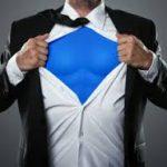 Líder, você é um super-herói?