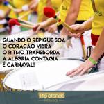 A alegria contagia – É Carnaval!